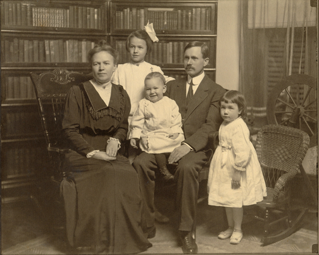 Grandpapa and Grandmother and children