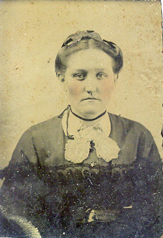 Unidentified woman from annette