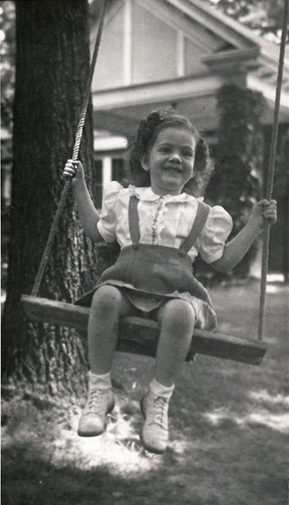 Lillie Humphries in swing