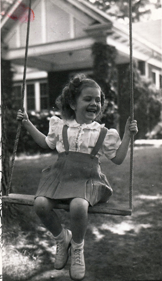 Lillie on Swing