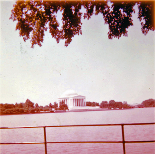 Jefferson Memorial 1955