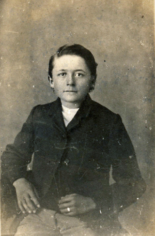 James Henry Keen at 13