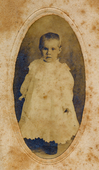 Rosabel Ashby Campbell, 18 mo. 1906